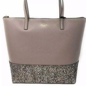 Kate Spade Greta Court Penny Glitter Large Top Zip
